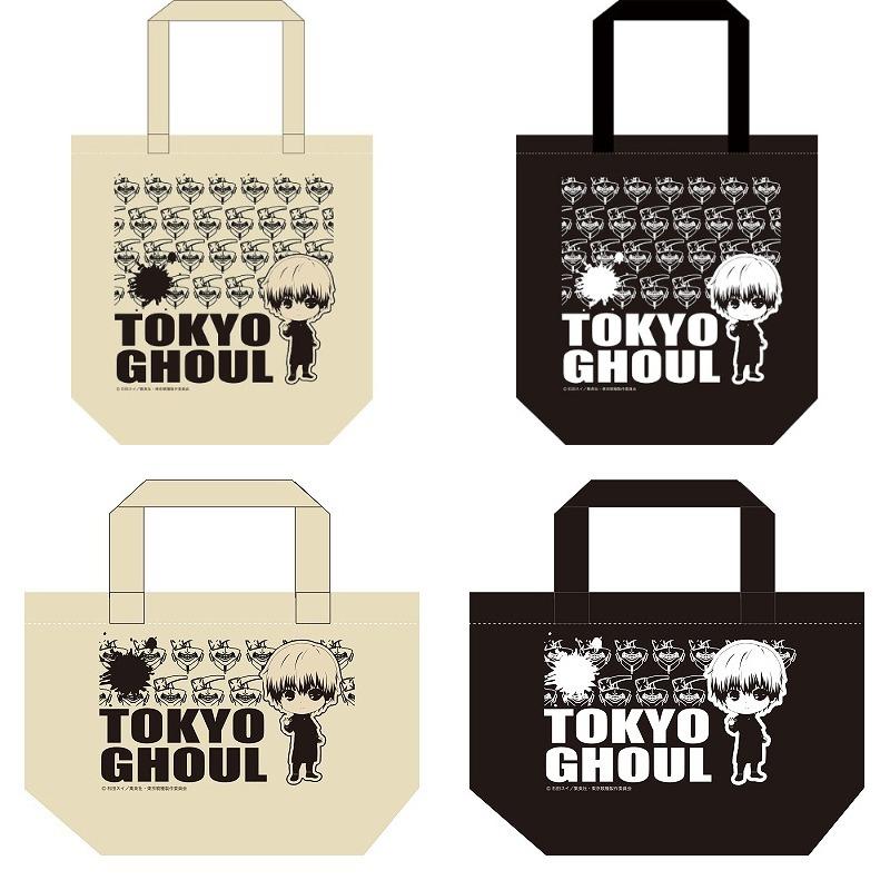 東京喰種 トーキョーグール トートバッグ 大中小3サイズ&ナチュラル/ブラックの各2色 予約開始!グッズ新作情報 #東京喰種 #tkg_anime #tk_ccg